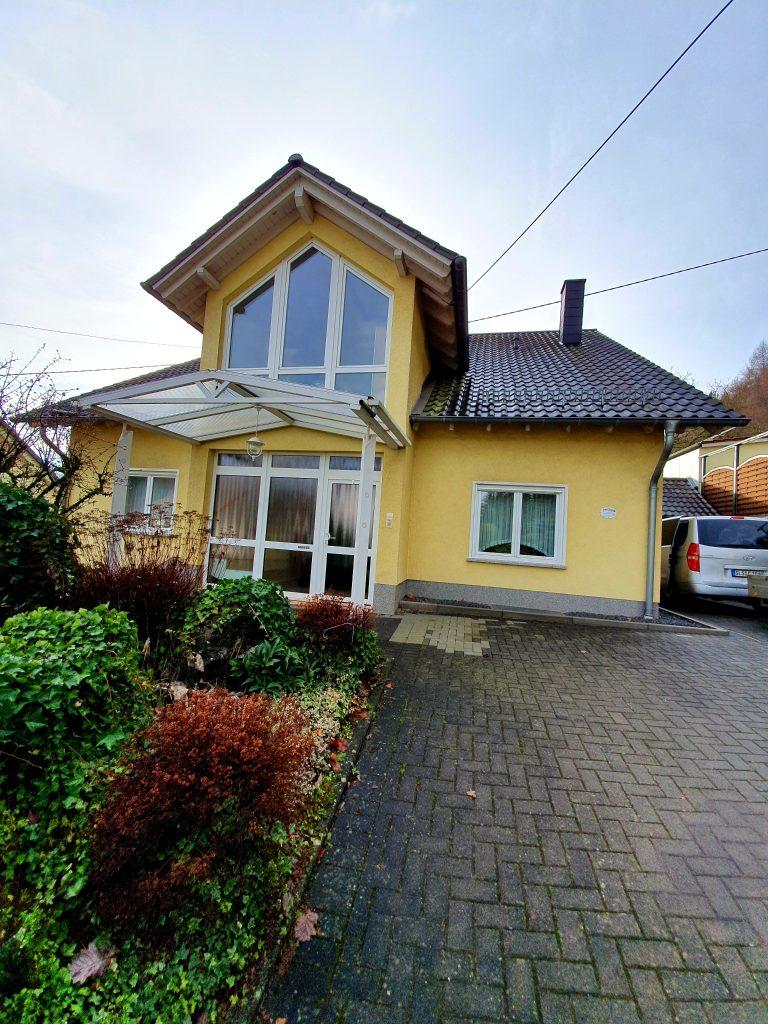 Blick auf das Ferienhaus in Beckingen Haustadt