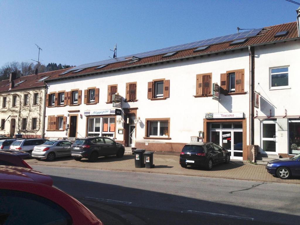 Blick auf Ferienhaus Honzratherstraße 69 in Beckingen