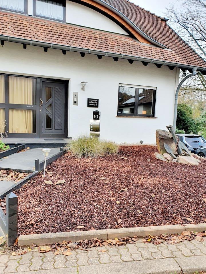 Blick auf Ferienhaus Haferweg 10 in Beckingen