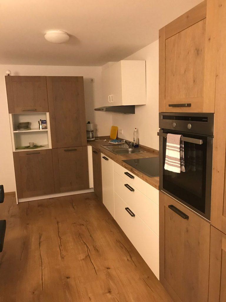 Küche Ferienwohnung Holunderweg 6 mit 2 Schlafzimme 2